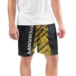 Шорты спортивные мужские DANGEROUS цвета 3D — фото 2