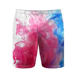 Шорты спортивные мужские Взрыв красок цвета 3D — фото 1