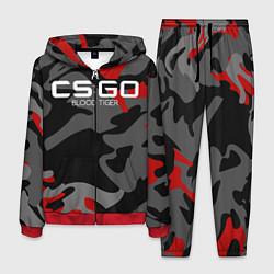 Костюм мужской CS:GO Blood Tiger цвета 3D-красный — фото 1
