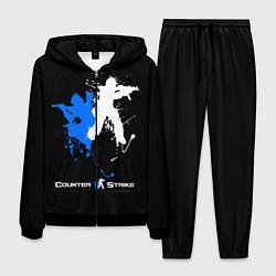 Костюм мужской Counter-Strike Spray цвета 3D-черный — фото 1