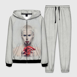 Костюм мужской Die Antwoord: Blooded Heart цвета 3D-черный — фото 1