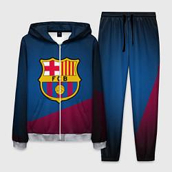Костюм мужской FCB Barcelona цвета 3D-меланж — фото 1