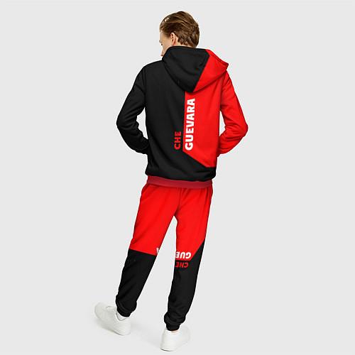 Мужской костюм Че Гевара / 3D-Красный – фото 4