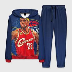 Костюм мужской LeBron 23: Cleveland цвета 3D-красный — фото 1