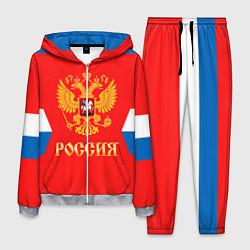 Костюм мужской Сборная РФ: домашняя форма цвета 3D-меланж — фото 1
