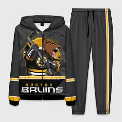 Костюм мужской Boston Bruins цвета 3D-черный — фото 1