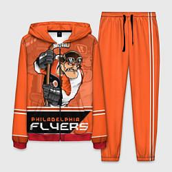 Костюм мужской Philadelphia Flyers цвета 3D-красный — фото 1