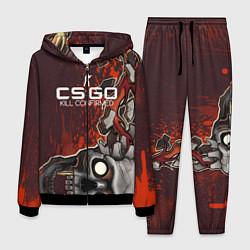 Костюм мужской CS:GO Kill Confirmed Style цвета 3D-черный — фото 1