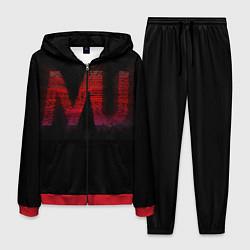 Костюм мужской Manchester United team цвета 3D-красный — фото 1