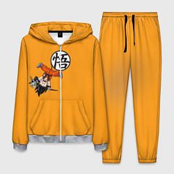 Костюм мужской Dragon Ball цвета 3D-меланж — фото 1