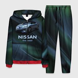 Костюм мужской Nissan the best цвета 3D-красный — фото 1