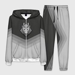 Костюм мужской G2 Esports Uniform цвета 3D-белый — фото 1