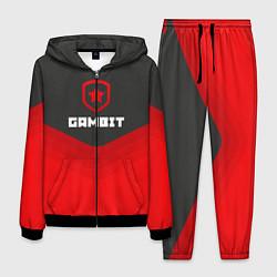 Костюм мужской Gambit Gaming Uniform цвета 3D-черный — фото 1