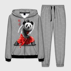 Костюм мужской Master Panda цвета 3D-черный — фото 1
