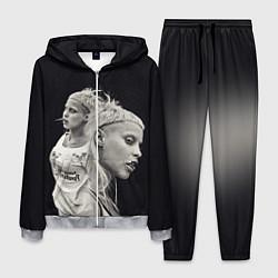 Костюм мужской Die Antwoord: Black Girl цвета 3D-меланж — фото 1