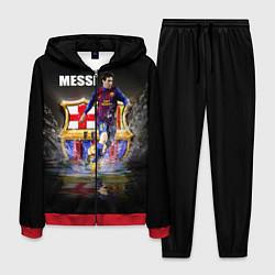 Костюм мужской Messi FCB цвета 3D-красный — фото 1