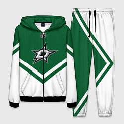 Костюм мужской NHL: Dallas Stars цвета 3D-черный — фото 1