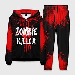 Костюм мужской Zombie Killer цвета 3D-черный — фото 1