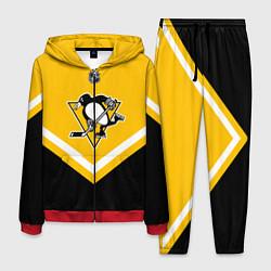 Костюм мужской NHL: Pittsburgh Penguins цвета 3D-красный — фото 1