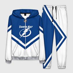 Костюм мужской NHL: Tampa Bay Lightning цвета 3D-меланж — фото 1