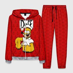 Костюм мужской Duff Beer цвета 3D-меланж — фото 1