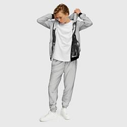 Костюм мужской BTS Grey цвета 3D-черный — фото 2