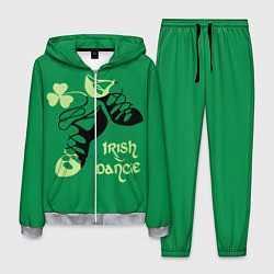 Костюм мужской Ireland, Irish dance цвета 3D-меланж — фото 1