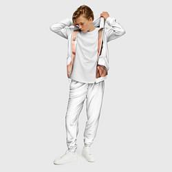 Костюм мужской Джон Сина цвета 3D-белый — фото 2