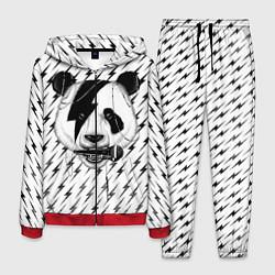 Костюм мужской Панда вокалист цвета 3D-красный — фото 1