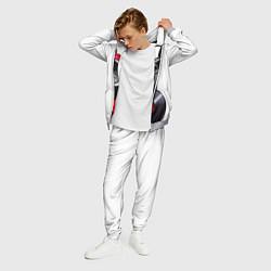 Костюм мужской DJ бульдог цвета 3D-меланж — фото 2