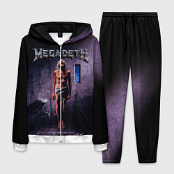 Костюм мужской Megadeth: Madness цвета 3D-белый — фото 1