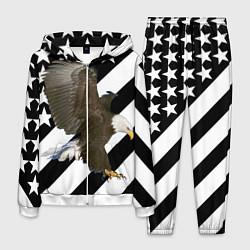Костюм мужской USA Eagle цвета 3D-белый — фото 1