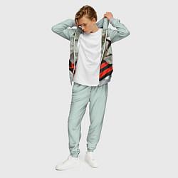 Костюм мужской Георгиевская лента цвета 3D-меланж — фото 2