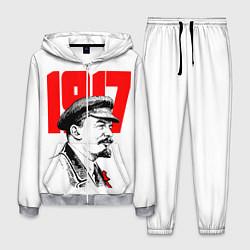 Костюм мужской Ленин 1917 цвета 3D-меланж — фото 1