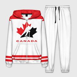 Костюм мужской Canada Team цвета 3D-белый — фото 1