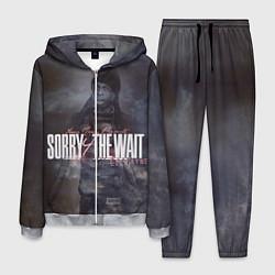 Костюм мужской Lil Wayne: Sorry the wait цвета 3D-меланж — фото 1