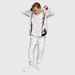 Костюм мужской Сфинкс с топором цвета 3D-черный — фото 2