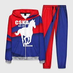 Костюм мужской CSKA est. 1911 цвета 3D-меланж — фото 1
