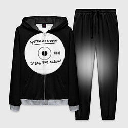 Костюм мужской SOAD: Steal this album цвета 3D-меланж — фото 1
