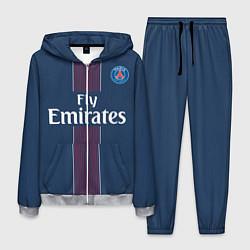 Костюм мужской PSG FC: Blue цвета 3D-меланж — фото 1