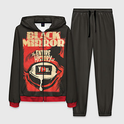 Костюм мужской Black Mirror: Entire history цвета 3D-красный — фото 1