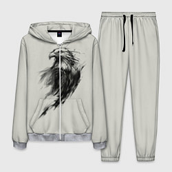 Костюм мужской Дикий орел цвета 3D-меланж — фото 1