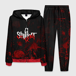 Костюм мужской Slipknot: Blood Blemishes цвета 3D-красный — фото 1