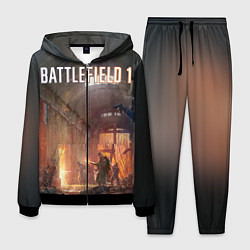 Костюм мужской Battlefield War цвета 3D-черный — фото 1