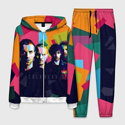 Костюм мужской Coldplay цвета 3D-белый — фото 1