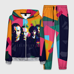 Костюм мужской Coldplay цвета 3D-меланж — фото 1