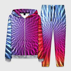 Костюм мужской Плетение цвета 3D-меланж — фото 1