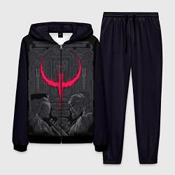 Костюм мужской Quake champions цвета 3D-черный — фото 1