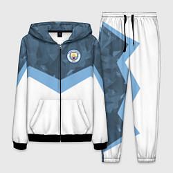 Костюм мужской Manchester City FC: Sport цвета 3D-черный — фото 1