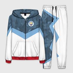 Костюм мужской Manchester City FC: Sport цвета 3D-красный — фото 1